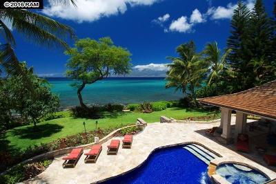 Maui County Single Family Home For Sale: 4039 Lower Honoapiilani