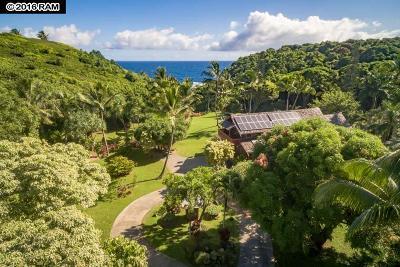 Haiku Single Family Home For Sale: 707 Puniawa