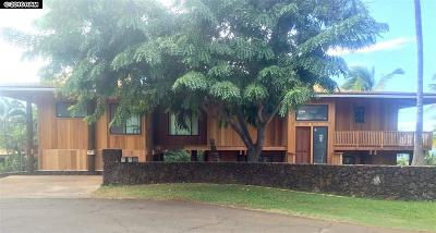 Maui County Single Family Home For Sale: 3408 Kuaua