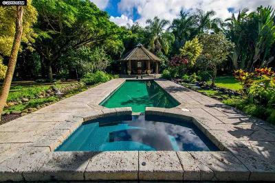 Haiku Single Family Home For Sale: 315 Pauwela