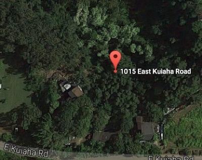 Haiku Single Family Home For Sale: 1015 E Kuiaha Rd