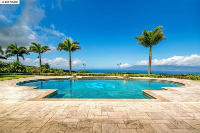 Maui County Single Family Home For Sale: 222 Keoawa St #Lot 17 H