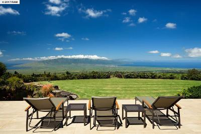 Kula, Wailuku Single Family Home For Sale: 14830 Haleakala