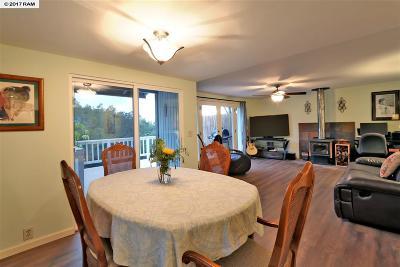 Kula Single Family Home For Sale: 320 Kulalani Dr