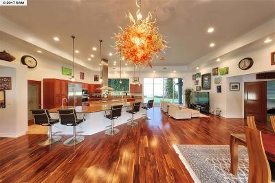 Kula, Wailuku Single Family Home For Sale: 12241 Haleakala #Lot 2-A