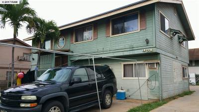 Kihei Single Family Home For Sale: 301 Lakau Pl