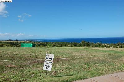 Residential Lots & Land For Sale: 404 Anapuni Loop #Lanikeha