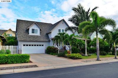 Kihei HI Single Family Home For Sale: $889,000