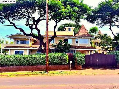 Paia Single Family Home For Sale: 313 Baldwin
