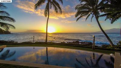 Maui County Single Family Home For Sale: 59 Hale Malia
