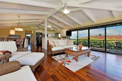 Maui County Single Family Home For Sale: 4087 N Paua