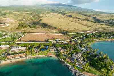 Lahaina Residential Lots & Land For Sale: Honoapiilani Hwy