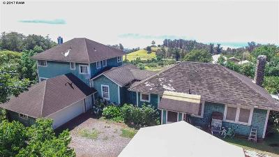 Makawao Single Family Home For Sale: 2210 Olinda Rd