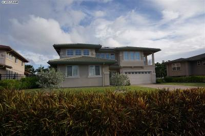 Kahului, Wailuku Single Family Home For Sale: 29 Kamaiki Cir