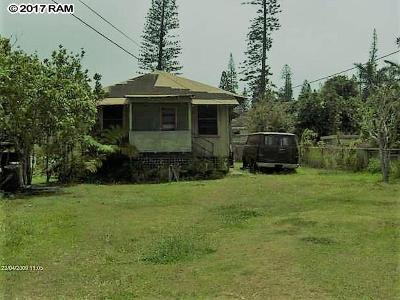 Lanai City HI Single Family Home For Sale: $350,000