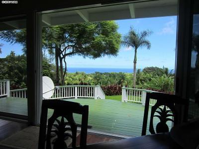 Hana Single Family Home For Sale: 265 Kalo Rd #4
