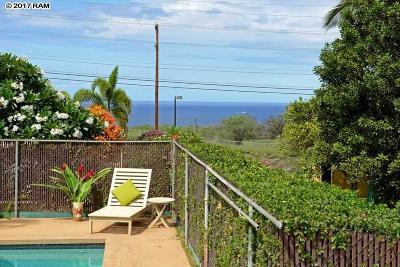 Maui County Single Family Home Cntngnt Escrow Canceling: 3476 Akala Dr