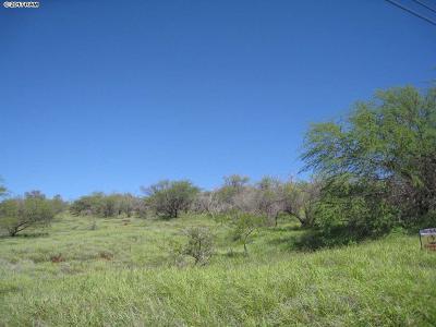 Maui County Residential Lots & Land For Sale: 54 Waiokama Pl