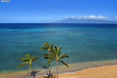 Maui County Condo For Sale: 4327 Lower Honoapiilani Rd #804