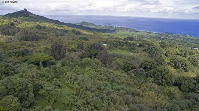 Hana Residential Lots & Land For Sale: 825 Kapia Rd