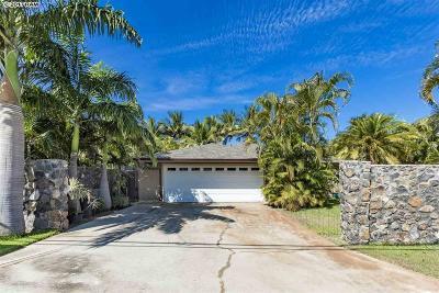 Kihei Single Family Home For Sale: 2688 Ohina