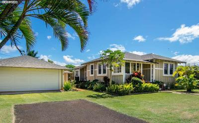 Paia Single Family Home For Sale: 16 Alenui