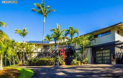 Paia Single Family Home For Sale: 581 Stable