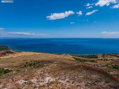 Lahaina Residential Lots & Land For Sale: Wailau #Lot 3 Ma