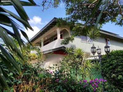 Kahului, Wailuku Single Family Home For Sale: 167 W Papa St