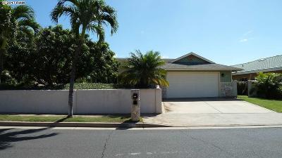 Kihei HI Single Family Home For Sale: $735,000