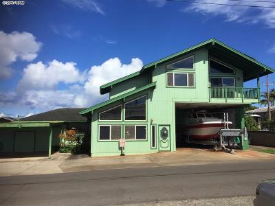 Paia Single Family Home For Sale: 6 Kaimao St #Lot 1 Ku