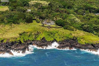 Maui County Single Family Home For Sale: 46900 Hana Hwy