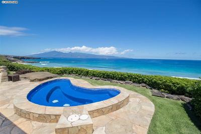 Maui County Single Family Home For Sale: 7 Kapalua Pl