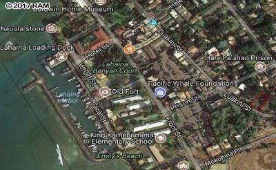 Lahaina HI Residential Lots & Land For Sale: $449,000