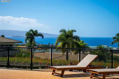 Maui County Single Family Home For Sale: 3875 Wailea Ekolu Pl