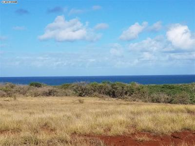 Maui County Residential Lots & Land For Sale: Pohakuloa Rd