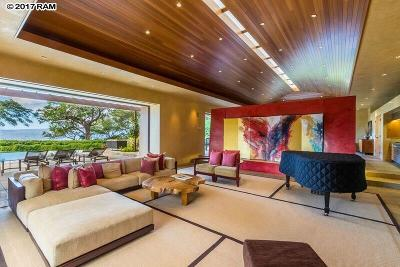 Kihei HI Single Family Home For Sale: $9,300,000