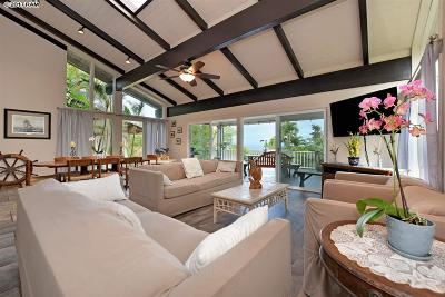 Lahaina HI Single Family Home For Sale: $989,900