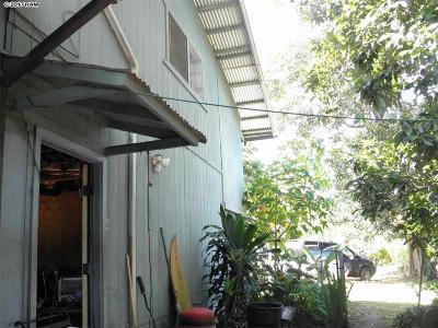 Haiku Single Family Home For Sale: 748 Haiku Rd