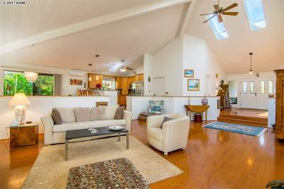 Kihei HI Single Family Home For Sale: $1,385,000