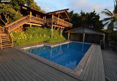 Maui County Single Family Home For Sale: 615 Kumulani Dr