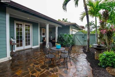Paia Single Family Home For Sale: 2464 Waipua St