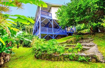 Hana Single Family Home For Sale: 46990 Hana Hwy