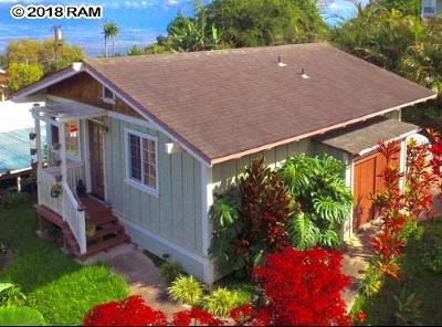 Kula Single Family Home For Sale: 17 Hookano Pl #B