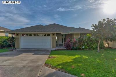 Wailuku Single Family Home For Sale: 36 Nohoana Pl
