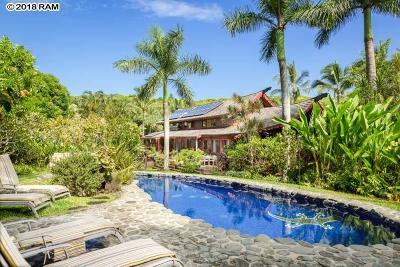 Haiku Single Family Home For Sale: 707 Puniawa Rd