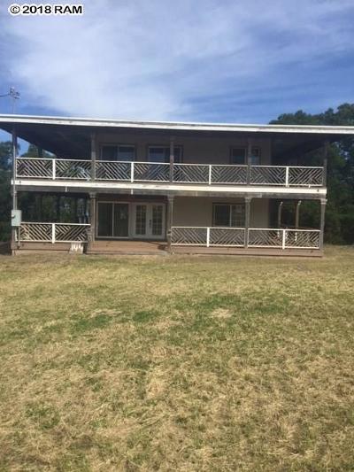 Kula Single Family Home For Sale: 144 Puuala St