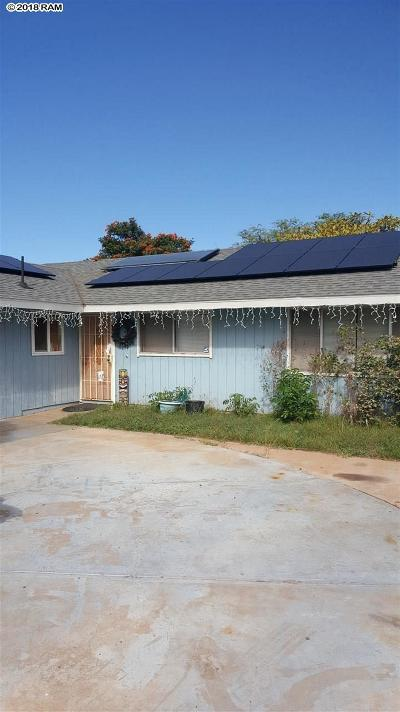 Single Family Home For Sale: 93 Miha Pl