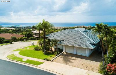 Kihei HI Single Family Home For Sale: $2,250,000