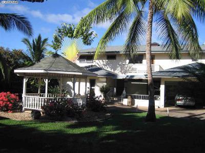 Maui County Single Family Home For Sale: 3414 Akala Dr